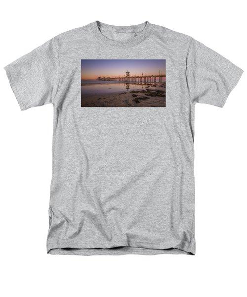 Men's T-Shirt  (Regular Fit) featuring the photograph Huntington Beach Pier by Sean Foster