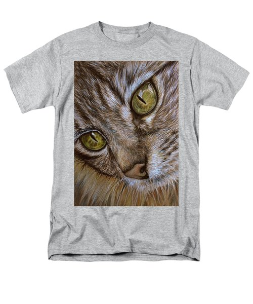 Men's T-Shirt  (Regular Fit) featuring the drawing I See by Heidi Kriel