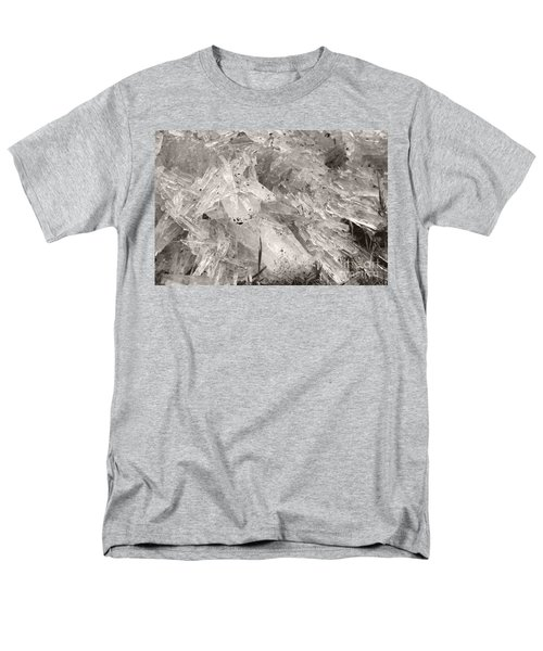 Ice Crystals Men's T-Shirt  (Regular Fit) by Heather Kirk