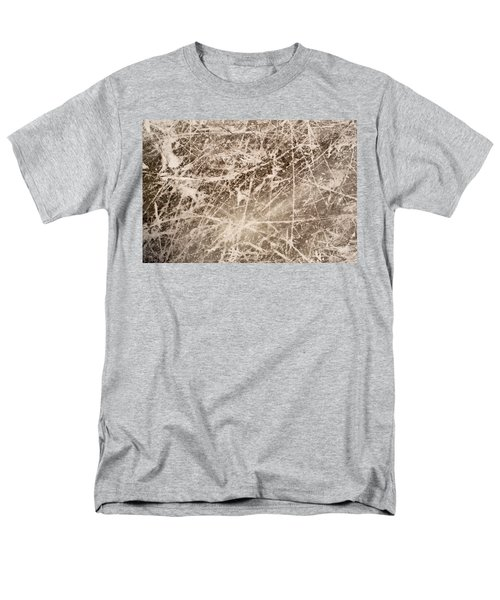 Men's T-Shirt  (Regular Fit) featuring the photograph Ice Skating Marks by John Williams