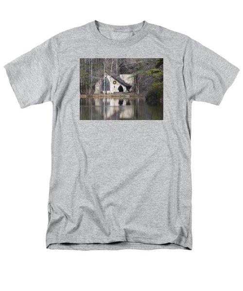 Ida Cason Callaway Memorial Chapel Men's T-Shirt  (Regular Fit) by Linda Geiger