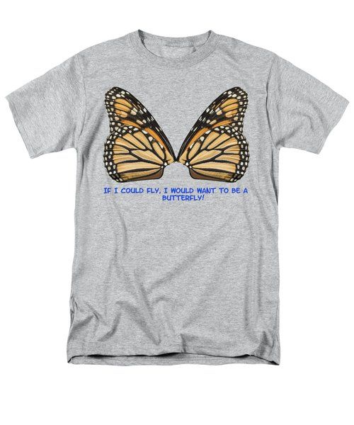 Men's T-Shirt  (Regular Fit) featuring the photograph If I Could Fly by Thomas Young
