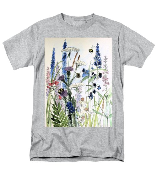 In The Garden Men's T-Shirt  (Regular Fit) by Laurie Rohner