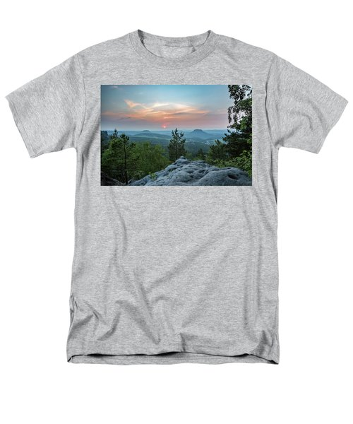 In The Land Of Mesas Men's T-Shirt  (Regular Fit) by Andreas Levi