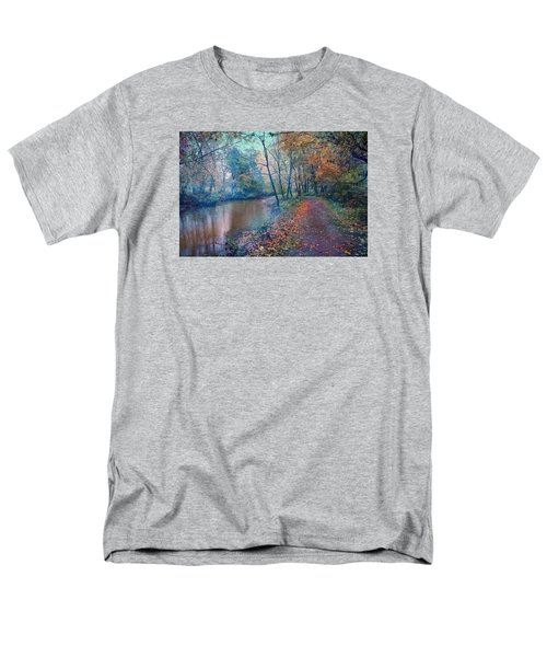 Men's T-Shirt  (Regular Fit) featuring the photograph In The Stillness Of The Morning by John Rivera