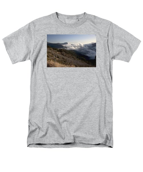 Men's T-Shirt  (Regular Fit) featuring the photograph Inspiration Point View by Ivete Basso Photography