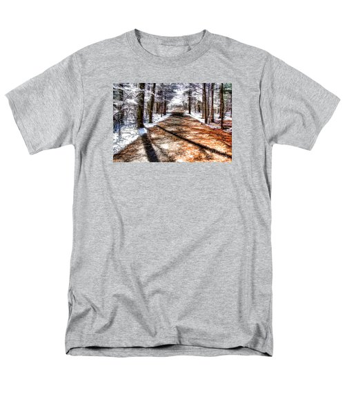 Men's T-Shirt  (Regular Fit) featuring the photograph Into Winter by Betsy Zimmerli