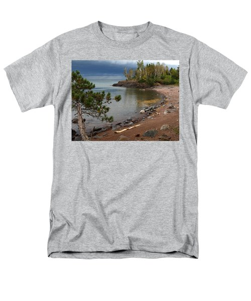 Men's T-Shirt  (Regular Fit) featuring the photograph Iona's Beach by James Peterson