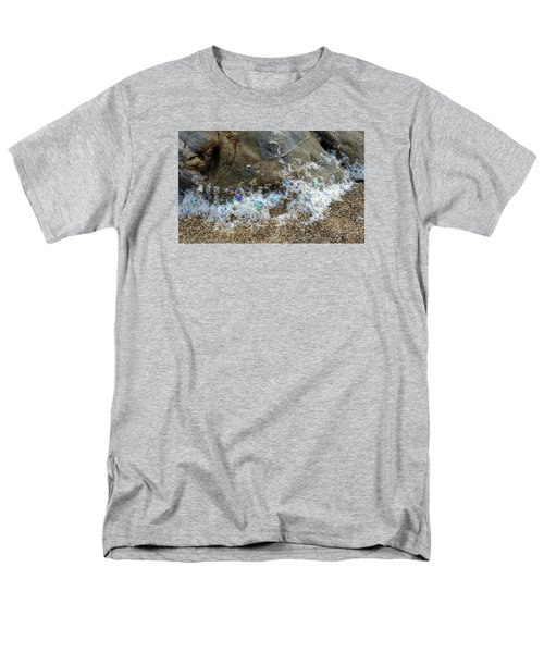 Iridescent Seafoam Necklace Men's T-Shirt  (Regular Fit) by Amelia Racca