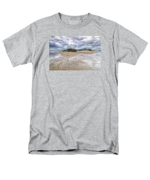Men's T-Shirt  (Regular Fit) featuring the photograph Private Island by Alan Raasch