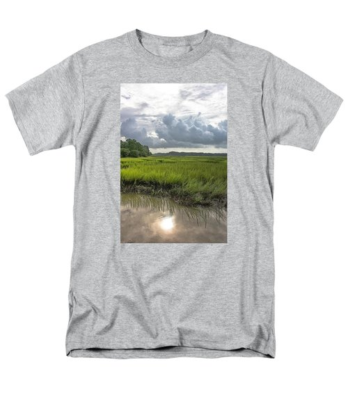 Men's T-Shirt  (Regular Fit) featuring the photograph Island by Margaret Palmer