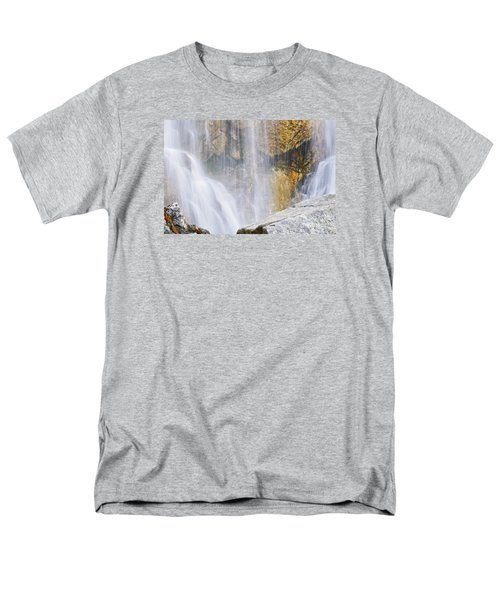 Men's T-Shirt  (Regular Fit) featuring the photograph It Is Watching by Janie Johnson