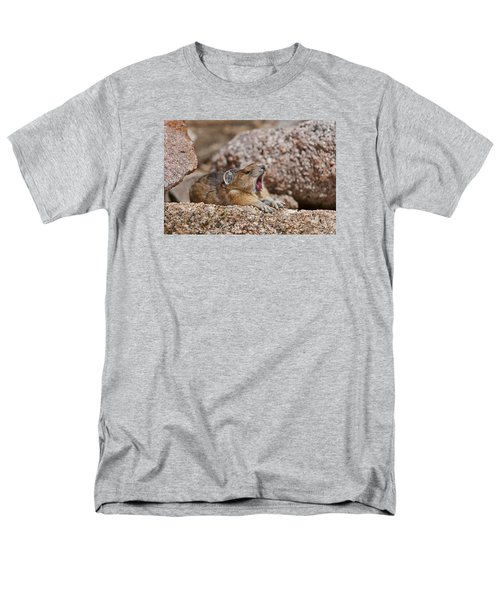 Men's T-Shirt  (Regular Fit) featuring the photograph It's Been A Long Day by Gary Lengyel
