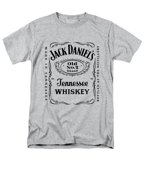 Jack Daniels In Black Men's T-Shirt  (Regular Fit) by Ericamaxine Price