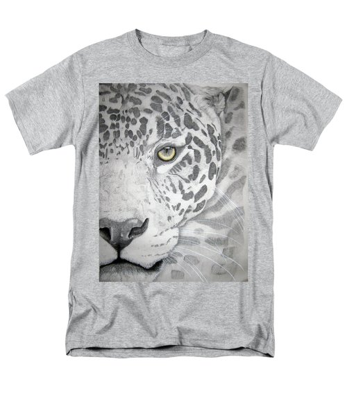 Men's T-Shirt  (Regular Fit) featuring the drawing Jaguar by Mayhem Mediums