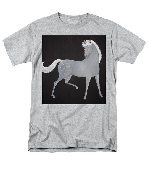 Japanese Horse 2 Men's T-Shirt  (Regular Fit) by Stephanie Moore
