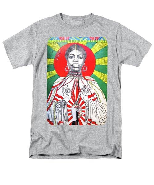 Jazz Saint Men's T-Shirt  (Regular Fit) by Ethna Gillespie