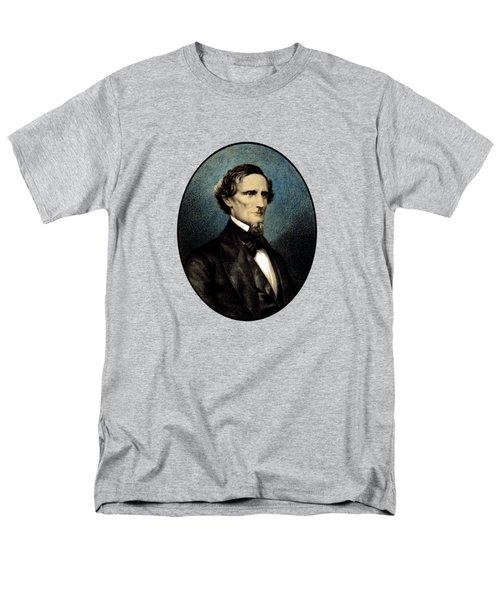 Jefferson Davis Men's T-Shirt  (Regular Fit) by War Is Hell Store