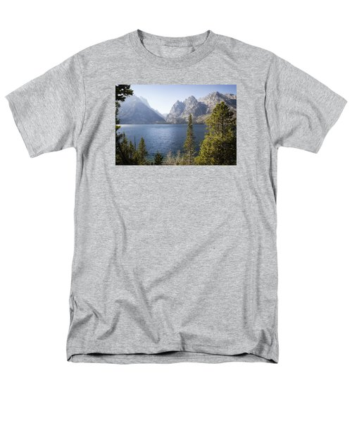 Men's T-Shirt  (Regular Fit) featuring the photograph Jenny Lake by Shirley Mitchell