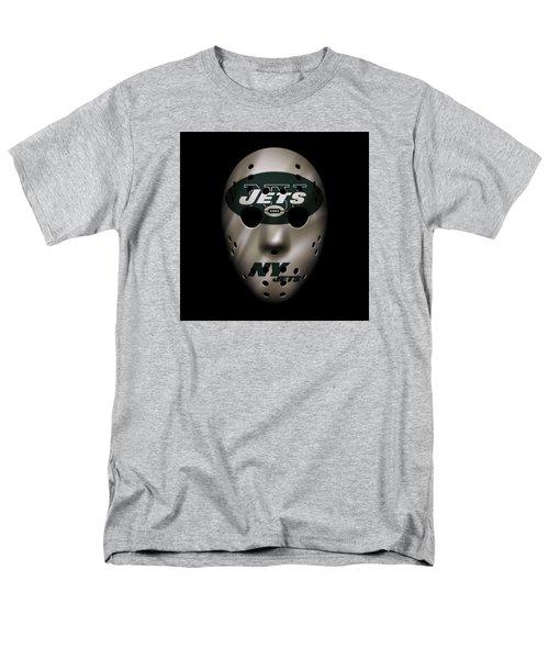 Jets War Mask Men's T-Shirt  (Regular Fit) by Joe Hamilton