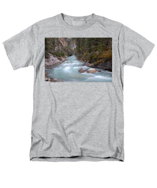 Johnston Canyon In Banff National Park Men's T-Shirt  (Regular Fit) by RicardMN Photography