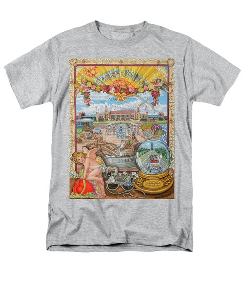 Jones Beach Love Story Men's T-Shirt  (Regular Fit) by Bonnie Siracusa
