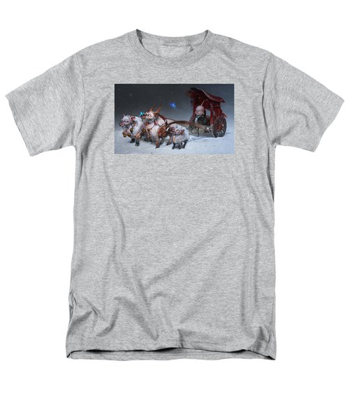 Men's T-Shirt  (Regular Fit) featuring the digital art Journey To The West by Te Hu