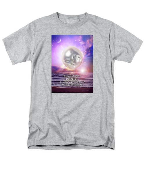 June Birthstone Pearl Men's T-Shirt  (Regular Fit)