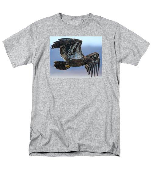 Juvenile Bald Eagle Men's T-Shirt  (Regular Fit)