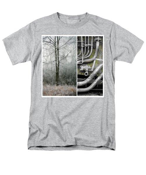 Juxtae #61 Men's T-Shirt  (Regular Fit) by Joan Ladendorf