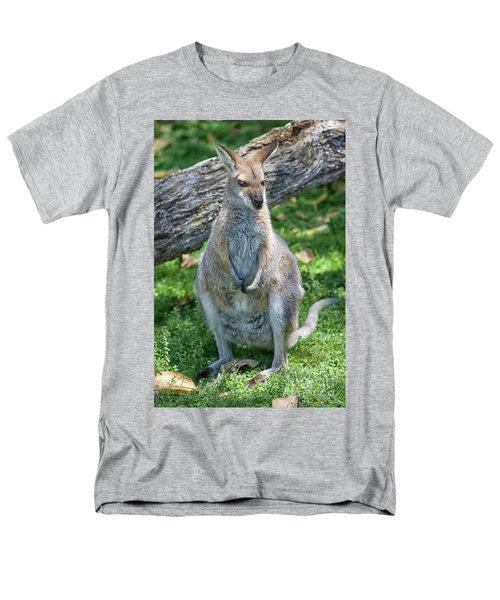 Men's T-Shirt  (Regular Fit) featuring the photograph Kangaroo by Patricia Hofmeester