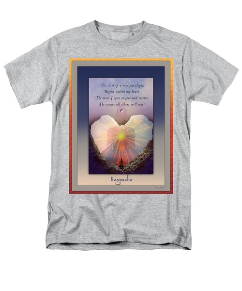 Kaypacha Mantra 3.3.2015 Men's T-Shirt  (Regular Fit)