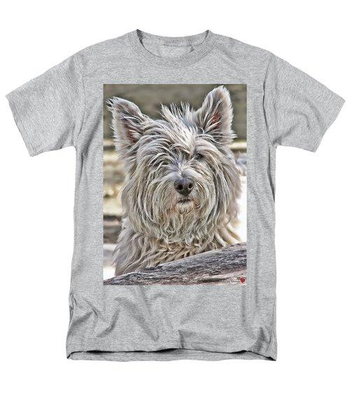 Kelsey Men's T-Shirt  (Regular Fit) by Rhonda McDougall