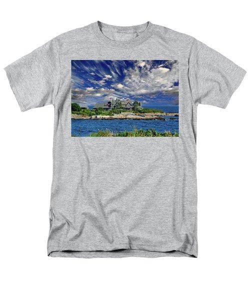 Kennebunkport, Maine - Walker's Point Men's T-Shirt  (Regular Fit) by Russ Harris