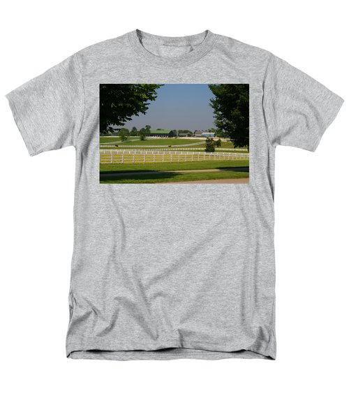 Kentucky Horse Park Men's T-Shirt  (Regular Fit) by Kathryn Meyer