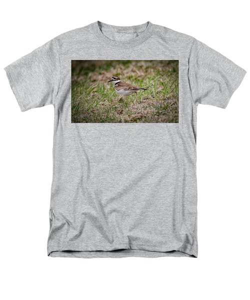 Killdeer Men's T-Shirt  (Regular Fit) by Ray Congrove