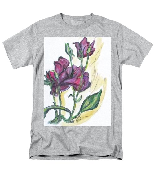 Kimberly's Spring Flower Men's T-Shirt  (Regular Fit) by Clyde J Kell