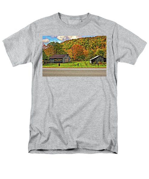 Kindred Barns Men's T-Shirt  (Regular Fit) by Steve Harrington