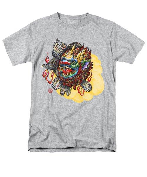 Kirin Head Ranchu Men's T-Shirt  (Regular Fit) by Shih Chang Yang
