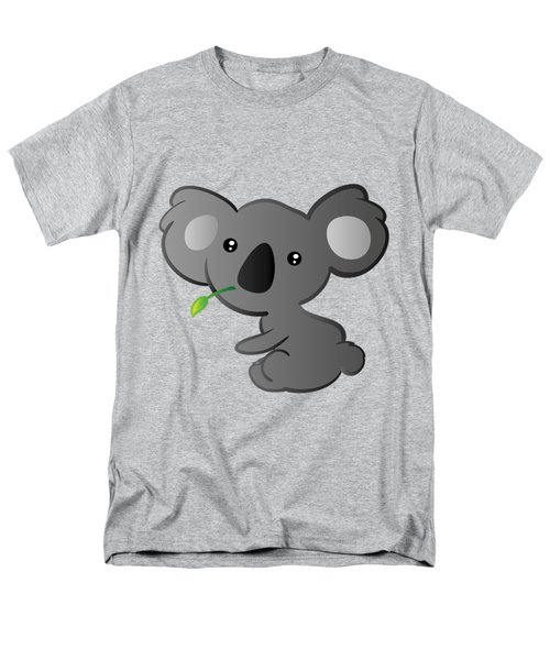 Koala Men's T-Shirt  (Regular Fit) by Hadeel ArT