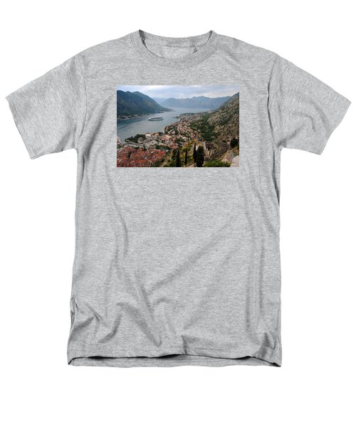 Kotor Bay Men's T-Shirt  (Regular Fit) by Robert Moss