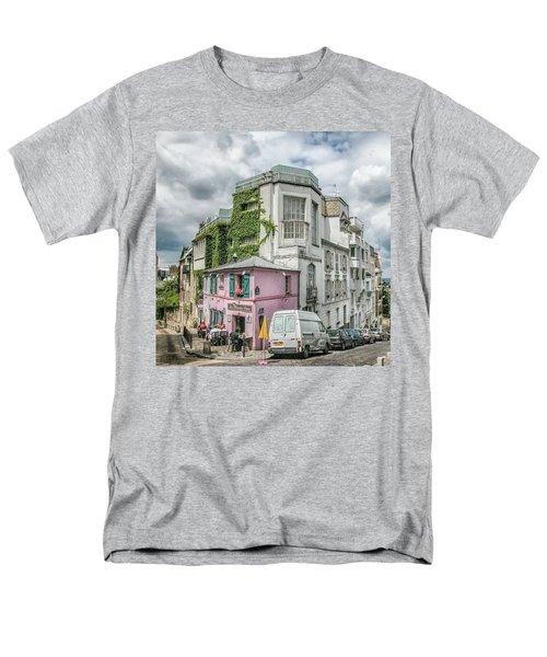 Men's T-Shirt  (Regular Fit) featuring the photograph La Maison Rose by Alan Toepfer
