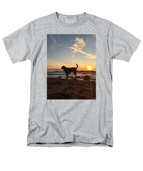 Men's T-Shirt  (Regular Fit) featuring the photograph Labrador Dreams by Paula Brown