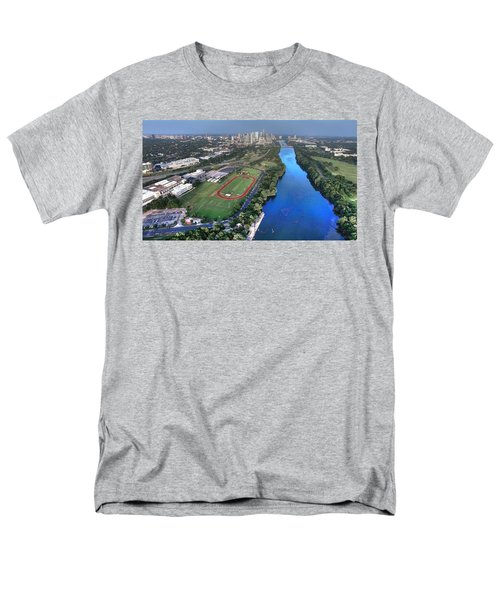 Lady Bird Lake Men's T-Shirt  (Regular Fit) by Andrew Nourse