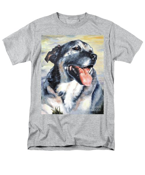 Men's T-Shirt  (Regular Fit) featuring the painting Lady by Diane Daigle