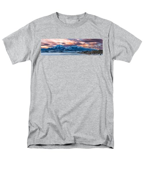 Men's T-Shirt  (Regular Fit) featuring the photograph Lake Dillon by Sebastian Musial