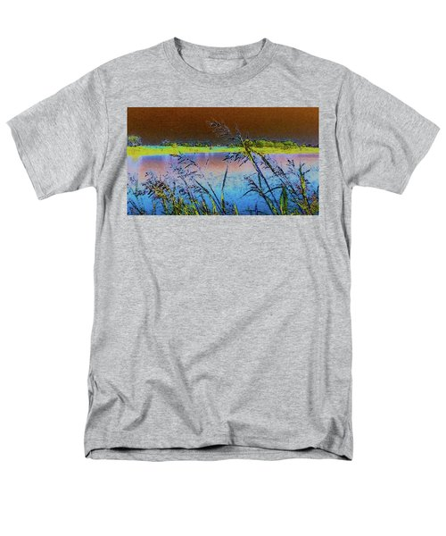 Men's T-Shirt  (Regular Fit) featuring the photograph Lake II by Donna G Smith