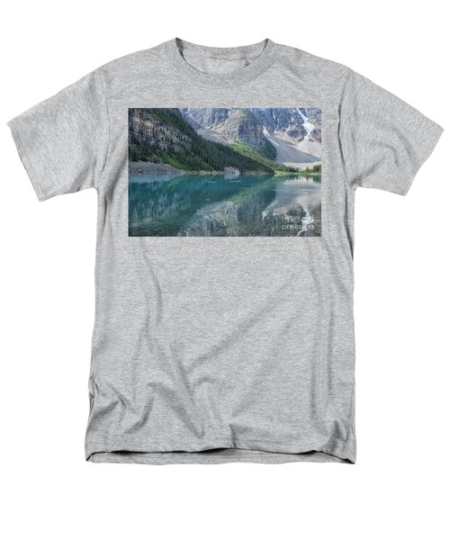 Men's T-Shirt  (Regular Fit) featuring the photograph Lake Moraine by Patricia Hofmeester
