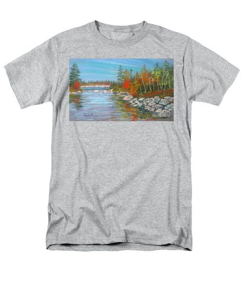 Lake Susie  Men's T-Shirt  (Regular Fit) by Rae  Smith
