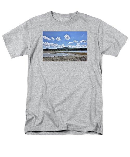 Land Bridge From Bar Harbor To Bar Island - Maine Men's T-Shirt  (Regular Fit)
